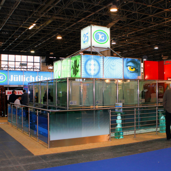 Manufacture of stainless steel exhibition stand