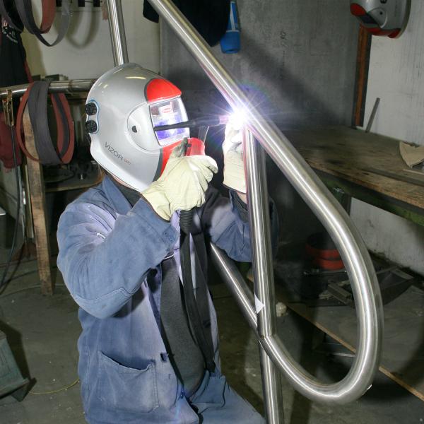Schweißen von rostfreiem Stahl