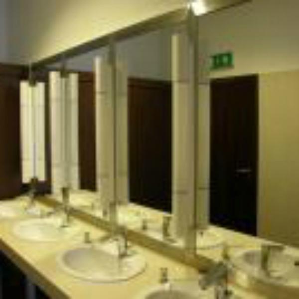 Rozsdamentes tükör keret